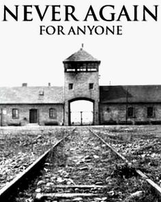 Holocaust Remembrance Day. Remembering the 6 million Jews, and many others, who lost their lives during this dark time.