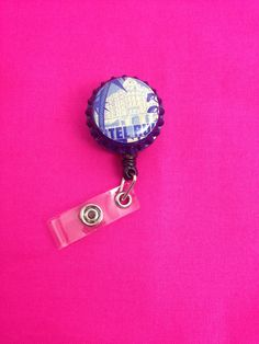 Hotel Badge Holder by GraysonsHome on Etsy