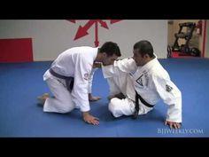 ▶ Gracie Jiu Jitsu - Ryron Gracie - Open Guard Loop Choke - YouTube