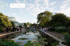 Wow. In love with this Brooklyn garden venue.  (Victor Sizemore Photography)