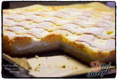 Mřížkový výborný tvarohový koláč