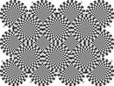 rotating snakes-Akiyoshi Kitaoka,