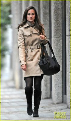 Pippa Middleton - Love this classic look