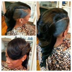 So Fly - Black Hair Information Community Quick Weave Hairstyles, Mohawk Hairstyles, African Hairstyles, Love Hair, Gorgeous Hair, Curly Hair Styles, Natural Hair Styles, Sassy Hair, Relaxed Hair