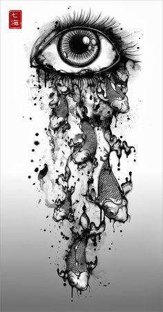 Ink-Tears - Nanami-Cowdroy