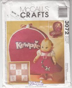 Kewpie Doll Clothes & Accessories Blouse Skirt by MyCottageHeart, $10.99