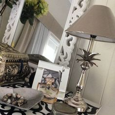 My new pineapple lamps arrived today! I think they are a classic style . #interiordesign #homestyle #silver #decor #bedrooms #homedecor #homeinspo #decorating #styling #thesunshinecoast