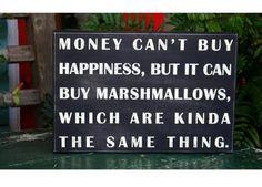 Marshmallows = Happiness  :)
