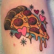 Pizza Tattoo 35
