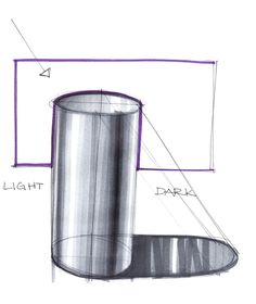 Drawing solids / cylinders