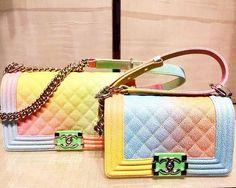 Boy Chanel Rainbow Bag