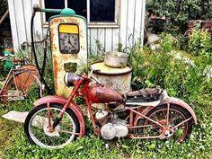 American Pickers style: rusty Silverpilen