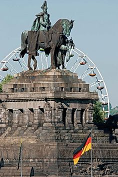 Deutsches Eck (German Corner), Koblenz