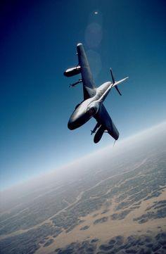 Hawker Hunter over Oman