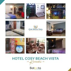 A perfect choice for a cosy leisure time in Karachi. Book your stay at Hotel Cosy Beach Vista, starting from only PKR Pakistan Hotels, Cosy, Beach, Outdoor Decor, Home Decor, Decoration Home, The Beach, Room Decor, Beaches