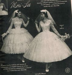 Mori-Lee Brides from the 1950s