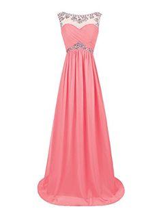 Dresstells® Long Chiffon Prom Dress with Beadings Wedding Dress Maxi Dress Evening Party Wear Dresstells https://www.amazon.co.uk/dp/B00OHGGCY6/ref=cm_sw_r_pi_dp_pCJFvb115Q3W5