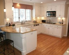 Kitchen Design White Cabinets Wood Floor what countertop color looks best with white cabinets? | white