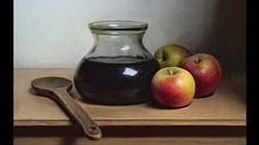 Still life speed painting movie by Jos Van Riswick