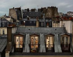Stunning rooftops.