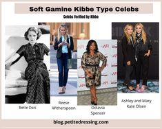 Kibbe Body Types- the Ultimate Guide Facial Bones, Dramatic Classic, Soft Gamine, Tailored Jacket, Straight Skirt, Celebs, Celebrities, Body Types, Cool Outfits