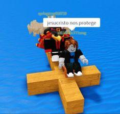 jesucristo nos protege Memes Roblox, Roblox Funny, Reaction Pictures, Funny Pictures, Dankest Memes, Funny Memes, Spanish Memes, Cursed Images, Meme Faces