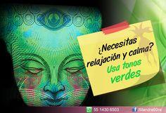 #Colores #verde #relajación #calma #TipsMandrá6ora