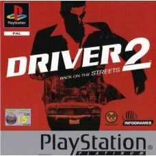 Driver 2: Back On The Streets PAL for Sony Playstation 1/PS1/PSX from Infogrames (SLES 02993)