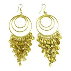This is a beautiful goldtone metal chandelier earring set. It is very fashionable jewelry.this is img Metal Chandelier, Chandelier Earrings, Drop Earrings, Earring Set, Gifts For Women, Jewelry Gifts, Fashion Jewelry, Elegant, Beautiful