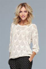 Fun Stitch Heart Sweater (659049X53) | £30