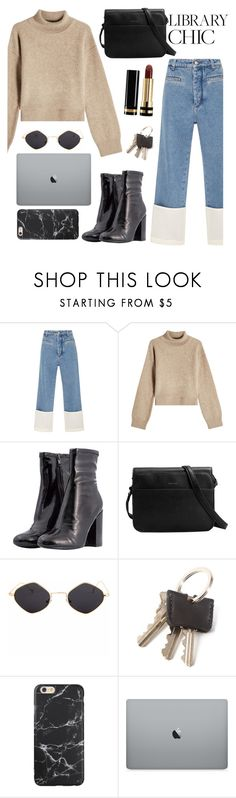 """""""Student's set"""" by dkoventri ❤ liked on Polyvore featuring Loewe, Rejina Pyo, Matt & Nat and Gucci"""