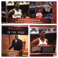 The Human Highlight Film is well represented on the walls at UGA's basketball facilities.