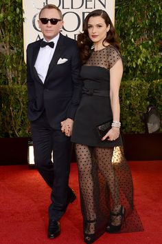 Rachel Weisz and Daniel Craig Golden Globes 2013