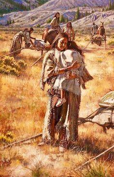 Don Oelze - Modern Native American Children, Native American Beauty, American Indian Art, Native American History, Native American Indians, Native American Paintings, Native American Pictures, American Artists, Native Indian