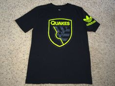 Sale Adidas San Jose EARTHQUAKES Soccer tee shirt by casualisme