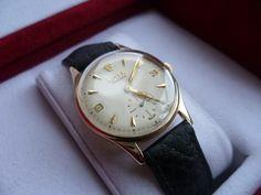 Vintage Rolex Precision 9ct Gold