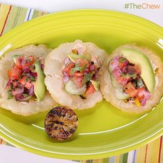 Puffy Tacos by Michael Symon! #TheChew