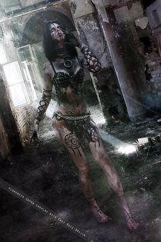 Enchantress from Suicide Squad Manga Halloween, Amazing Halloween Costumes, Halloween Cosplay, Cosplay Costumes, Creepy Costumes, Halloween 2016, Dark Fantasy Art, Dark Art, Fantasy Women