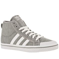 new concept bf252 a1b8f Women s Grey Adidas Adi Honey Mid at Schuh. Simple and sweet from Adidas  with the Honey Mid! A retro feel created with a jersey fabric upper and  effortless ...