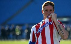 Torres in Atletico Madrit! finally! <3