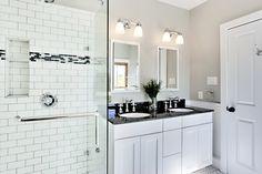 Classic subway tile Bath | Factor Surfaces