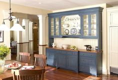 built in cabinets in dining room | built in cabinets | Kitchen/Dining room