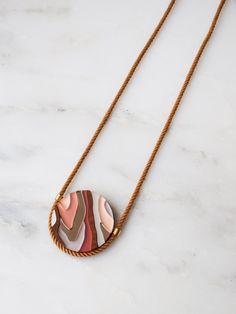 Marble III Necklace