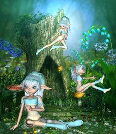 Fairies - Pixies - Little People - Imps - Trolls on ...