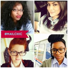 Lots of love for our #MailChics out there!! Tag us to be featured, ladies!    #MailBox #MailLady #LetterCarrier #PostalWorker #USPS