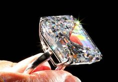 A rare Golconda diamond to go under the hammer at Sotheby's