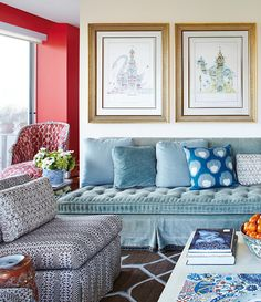 The Pink Pagoda: Lisa Fine Decorates a Dallas Apartment