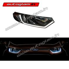 Autoglam provides premium quality Headlight Assembly for all brands and it's models in best price across India. Aftermarket Headlights, Car Headlights, Ford Ecosport, Headlight Assembly, Models, The Originals, Stuff To Buy, Model