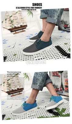 Summer Mesh Surface Breathable Casual Men's Shoes