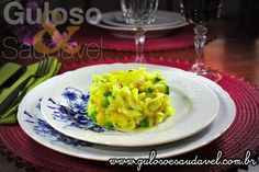 Esta receita é fácil, rápida e é uma tentação! Quem aí resiste a Fusilli com Bacalhau ao Molho de Água de Coco?  #Receita aqui: http://www.gulosoesaudavel.com.br/2013/04/16/fusilli-bacalhau-molho-agua-coco/
